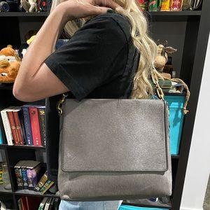 NEW Gigi New York Calf Hair Flap Shoulder Bag